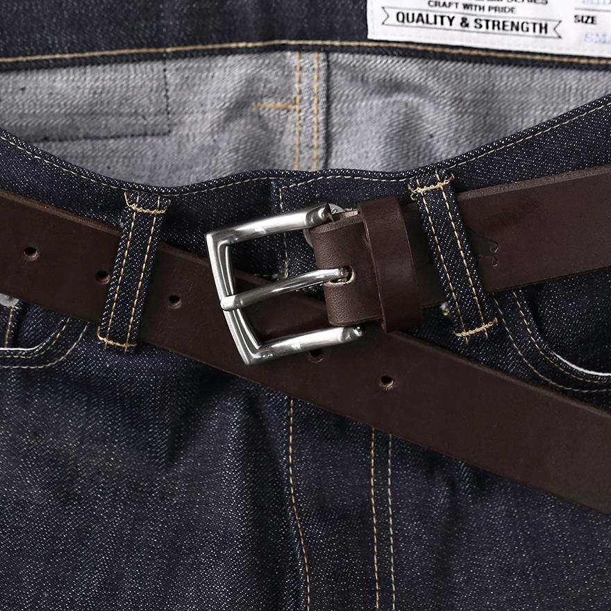 No.1 Silver Belt - Brown