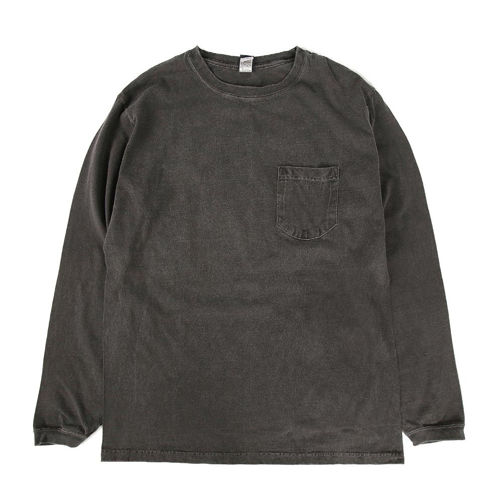 Pocket Long T-Shirts - P-Black
