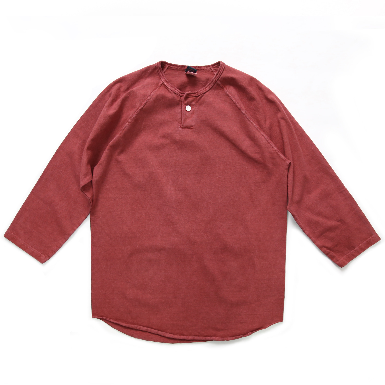 One Button Baseball T-Shirts - F.Red