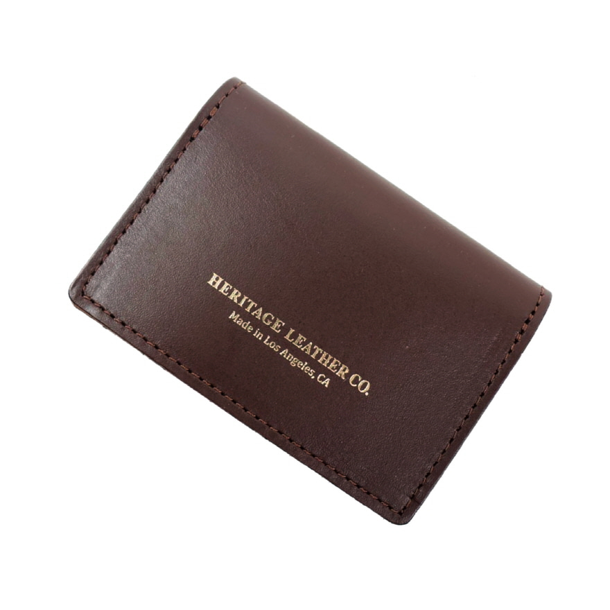 Pocket Card Case - Brown