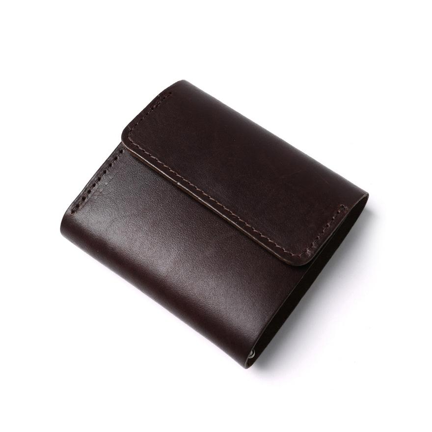 Tri-Fold Wallet - Brown