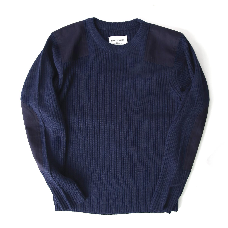 Command Crew Neck Sweater - Navy