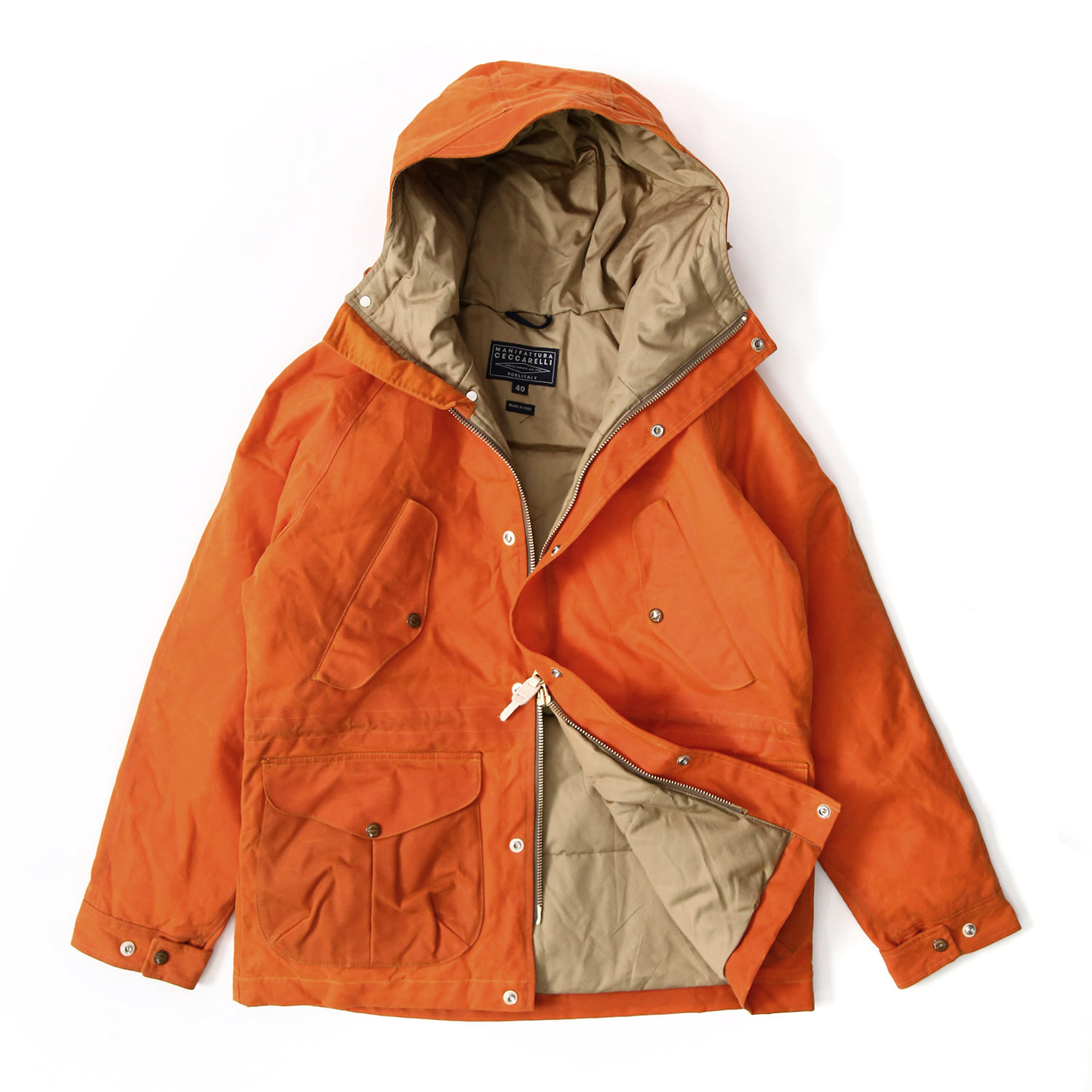 Fisherman Parka - Orange