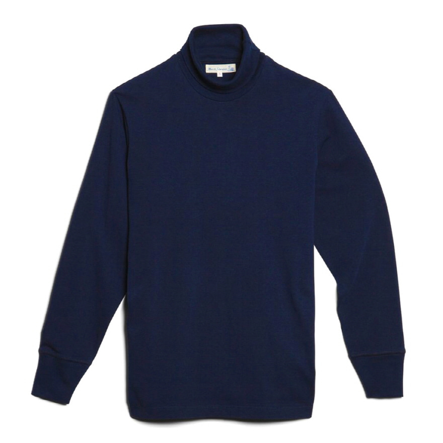 219 Turtle Neck Long Sleeve - Ink Blue