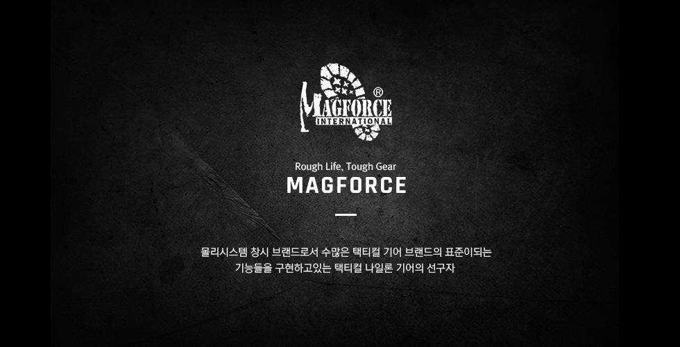 [맥포스]마젤란 펭귄 웨이스트백 - 카키