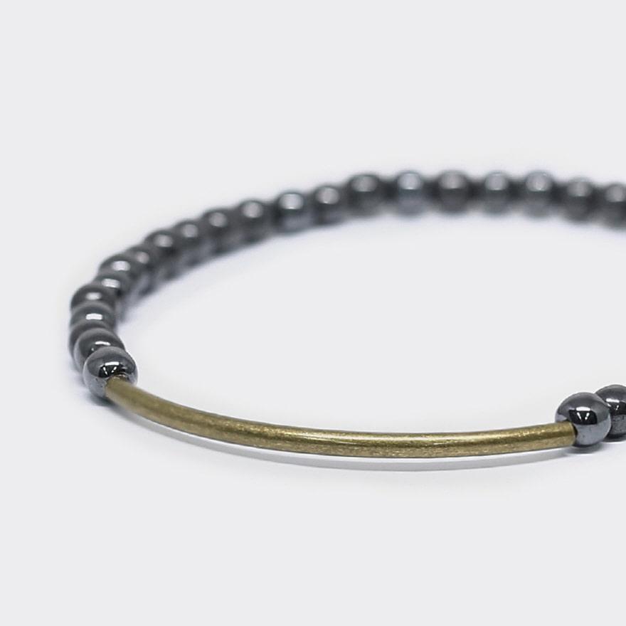 Tubular Bracelet_Brass - Hemalyke