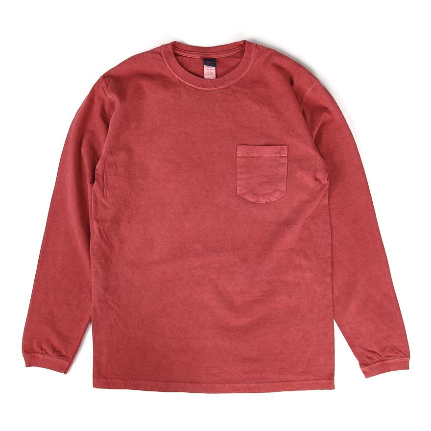 [재입고] Pocket Long T-Shirts - P-F.Red