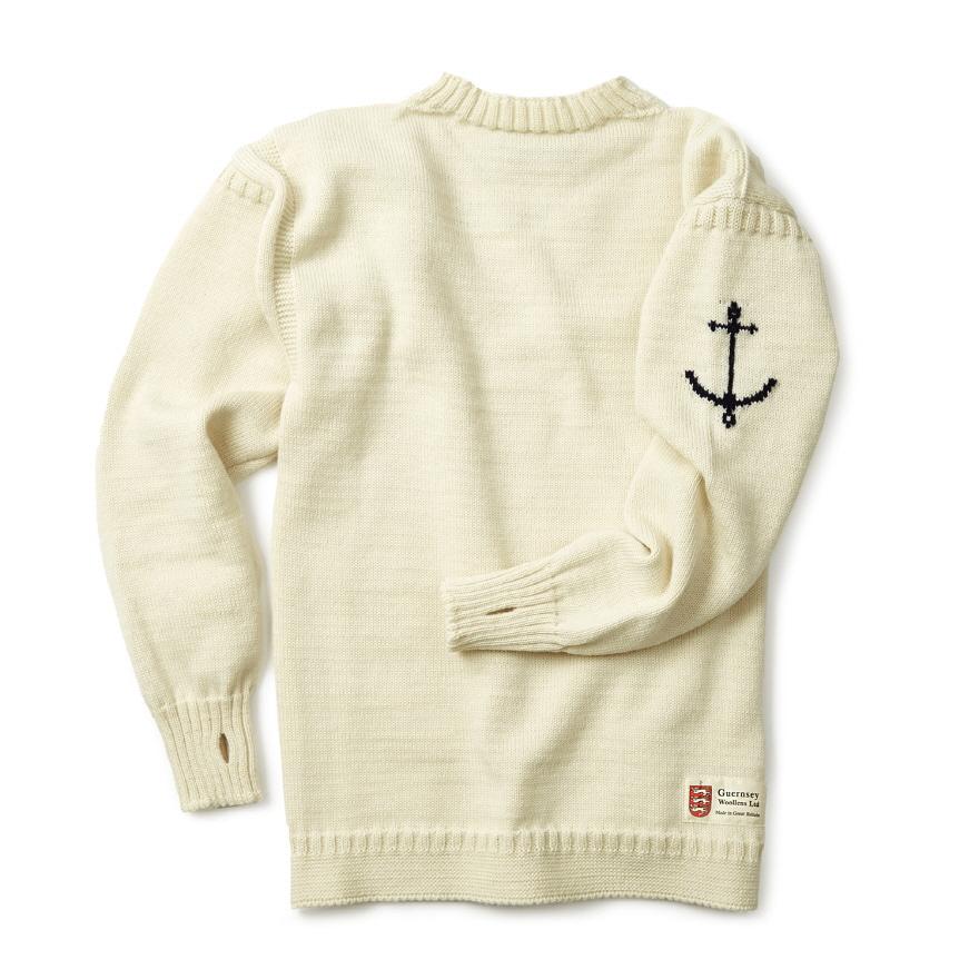[예약판매 10% 할인] 건지 트래디셔널 스웨터 - Aran