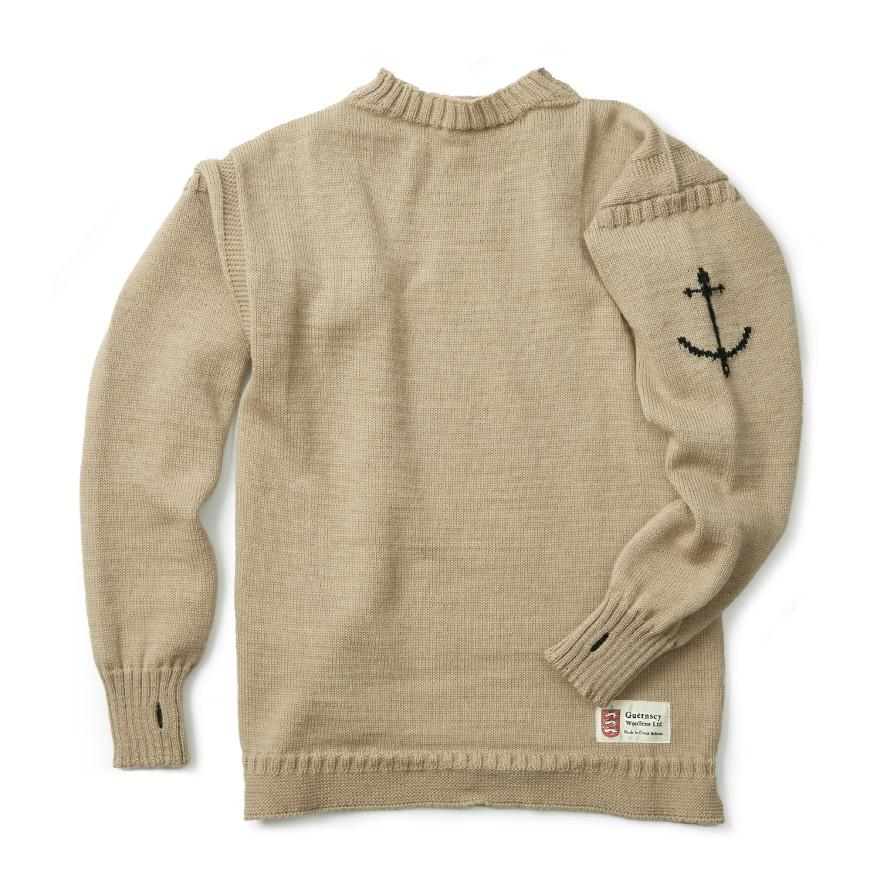 [예약판매 10% 할인] 건지 트래디셔널 스웨터 - Camel