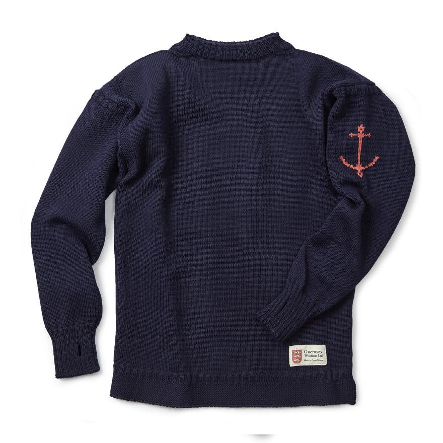 [예약판매 10% 할인] 건지 트래디셔널 스웨터 - Navy