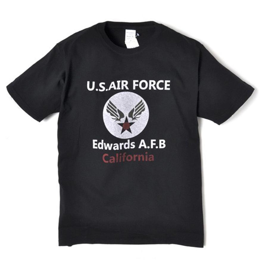Military Tee - U.S.A.F - Black