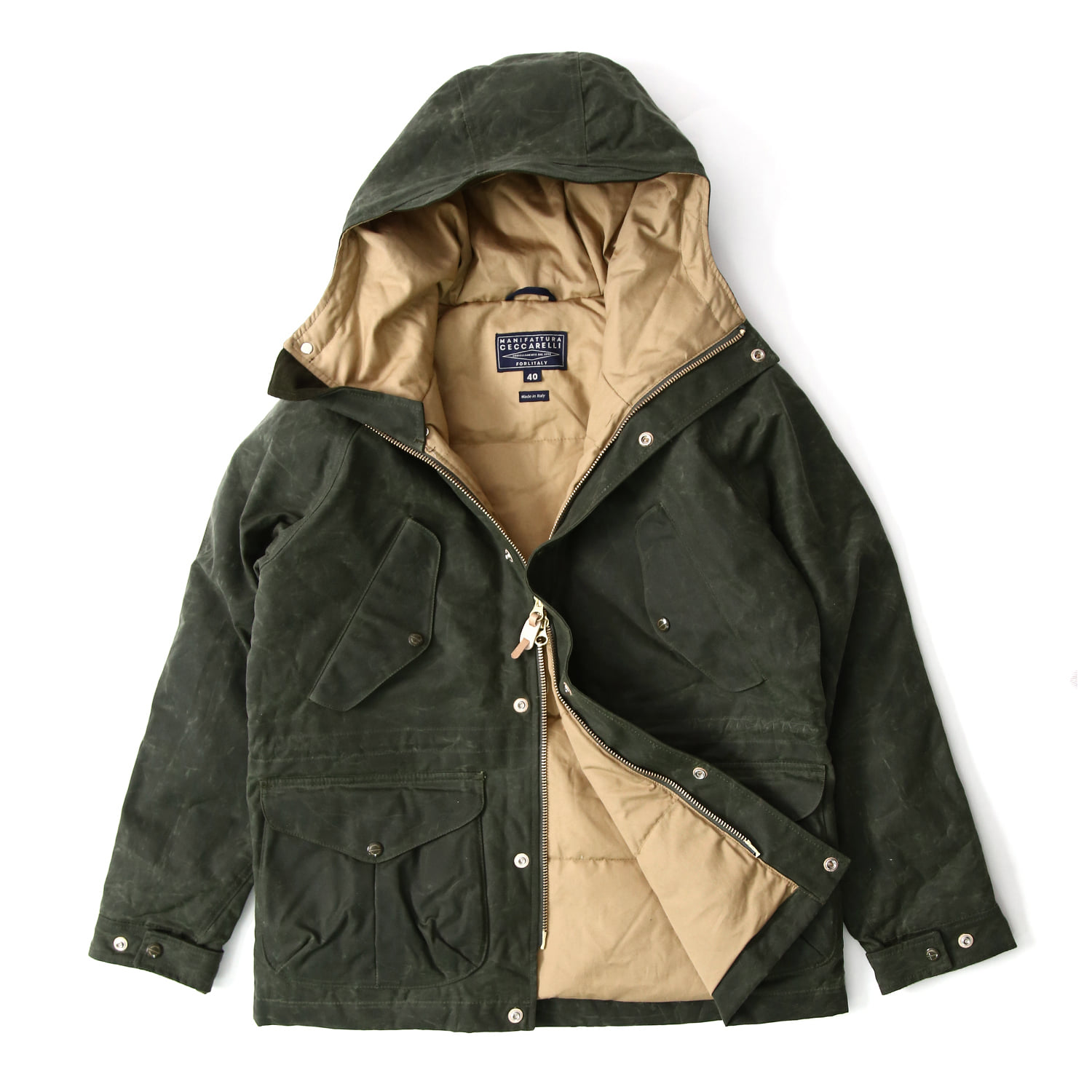 Fisherman Parka - Dark Green