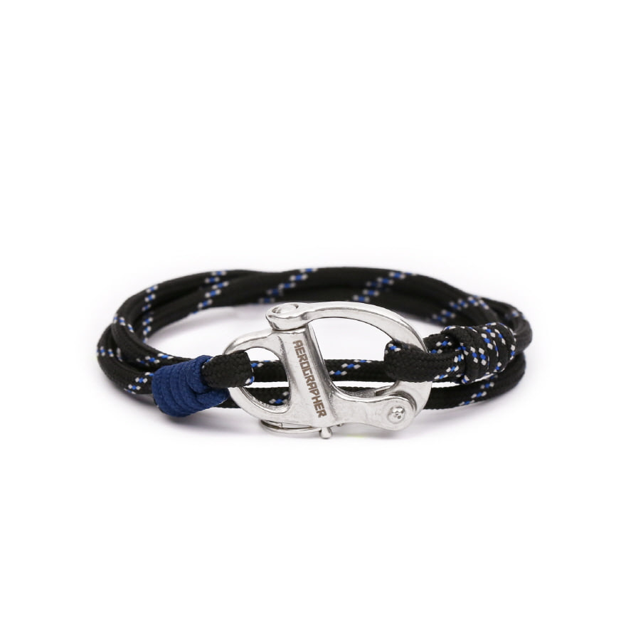 Hangman Bracelet - Midnight Black