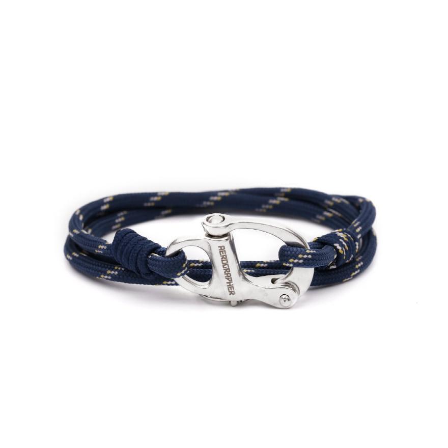 Hangman Bracelet - Peach Navy