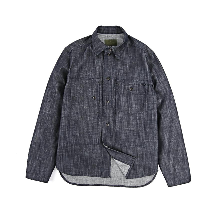 Utility Shirts Jacket - Denim