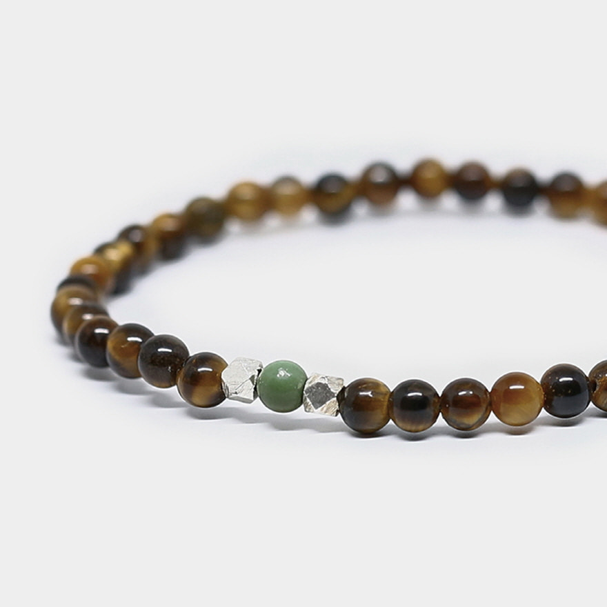 Nomad Bracelet - Gold Tiger Eye