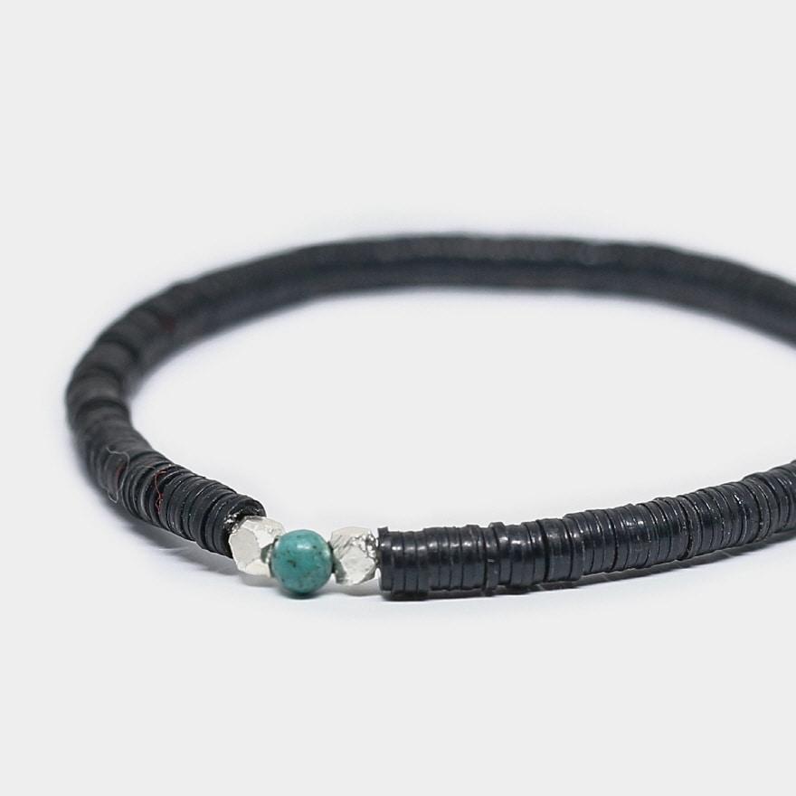 Vinyl Bracelet - Black