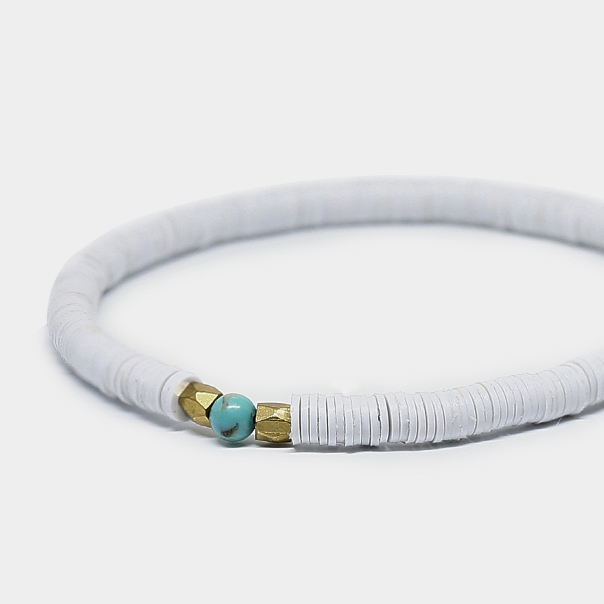 Vinyl Bracelet - White