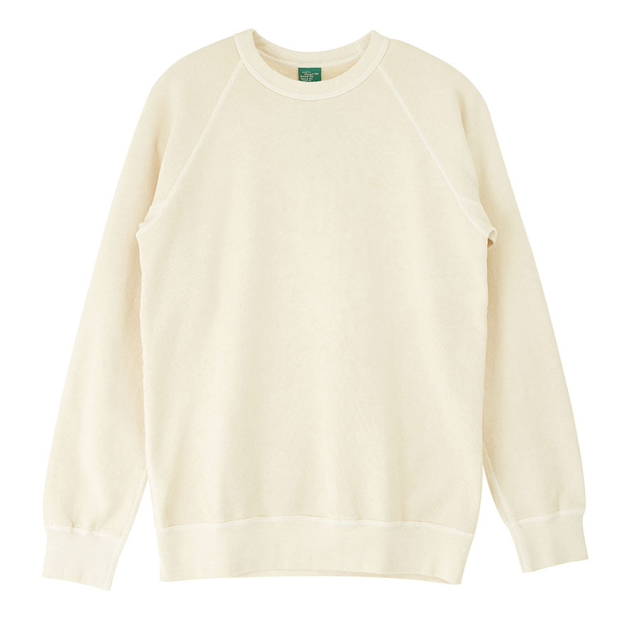Raglan Crew Sweat - P-Natural