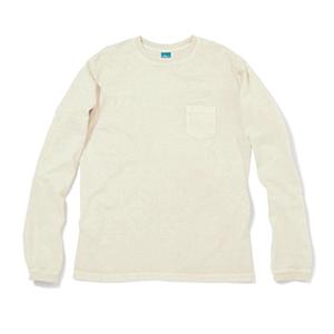 Pocket Long T-Shirts - P-Natural