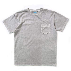 Crew Neck Pocket T-shirts - P-Ash