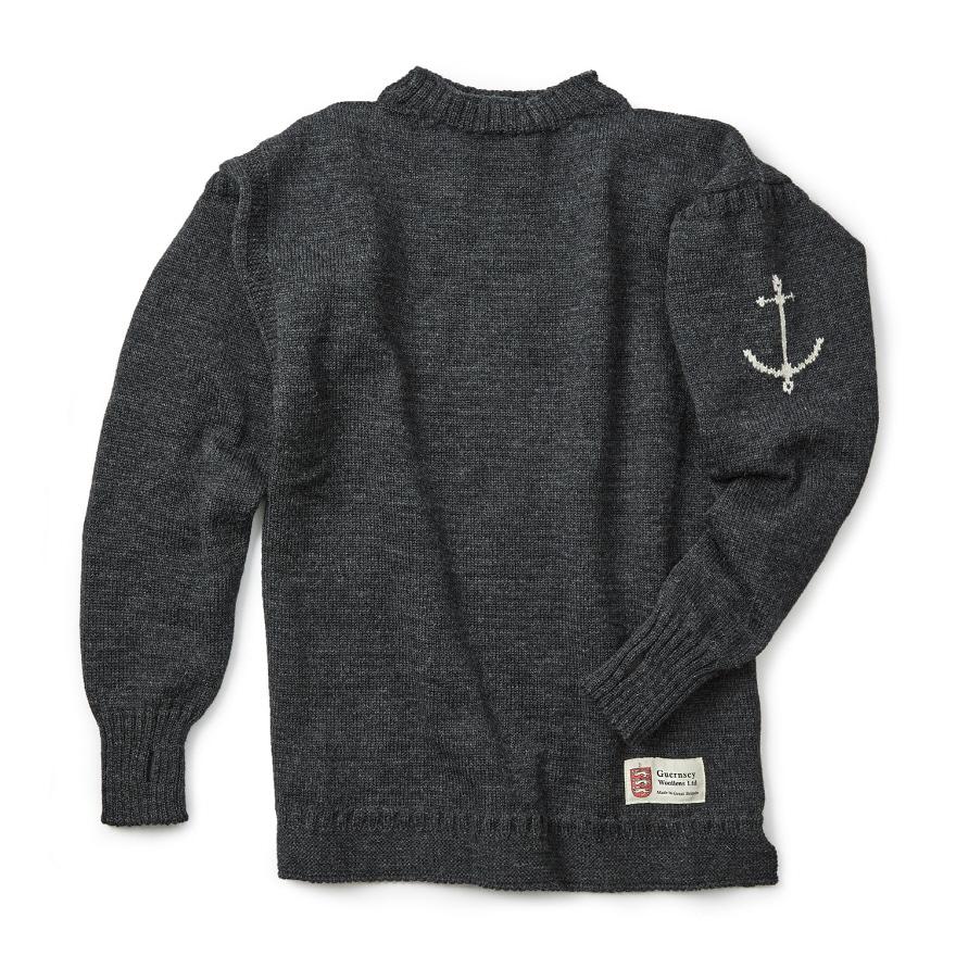 건지 트래디셔널 스웨터 - Charcoal