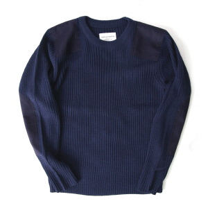 Command Crew Neck Sweater - Navy