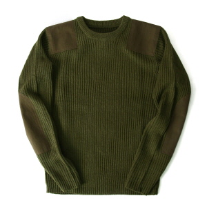 Command Crew Neck Sweater - Olive Drab