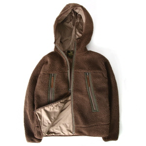WP Boa Hood JKT - Brown