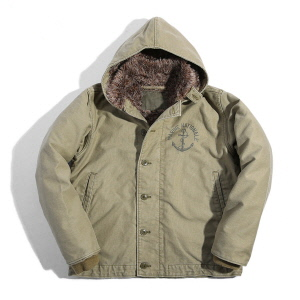 French Deck Jacket - Tan