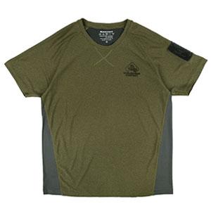 패치워크 티셔츠 - 탄