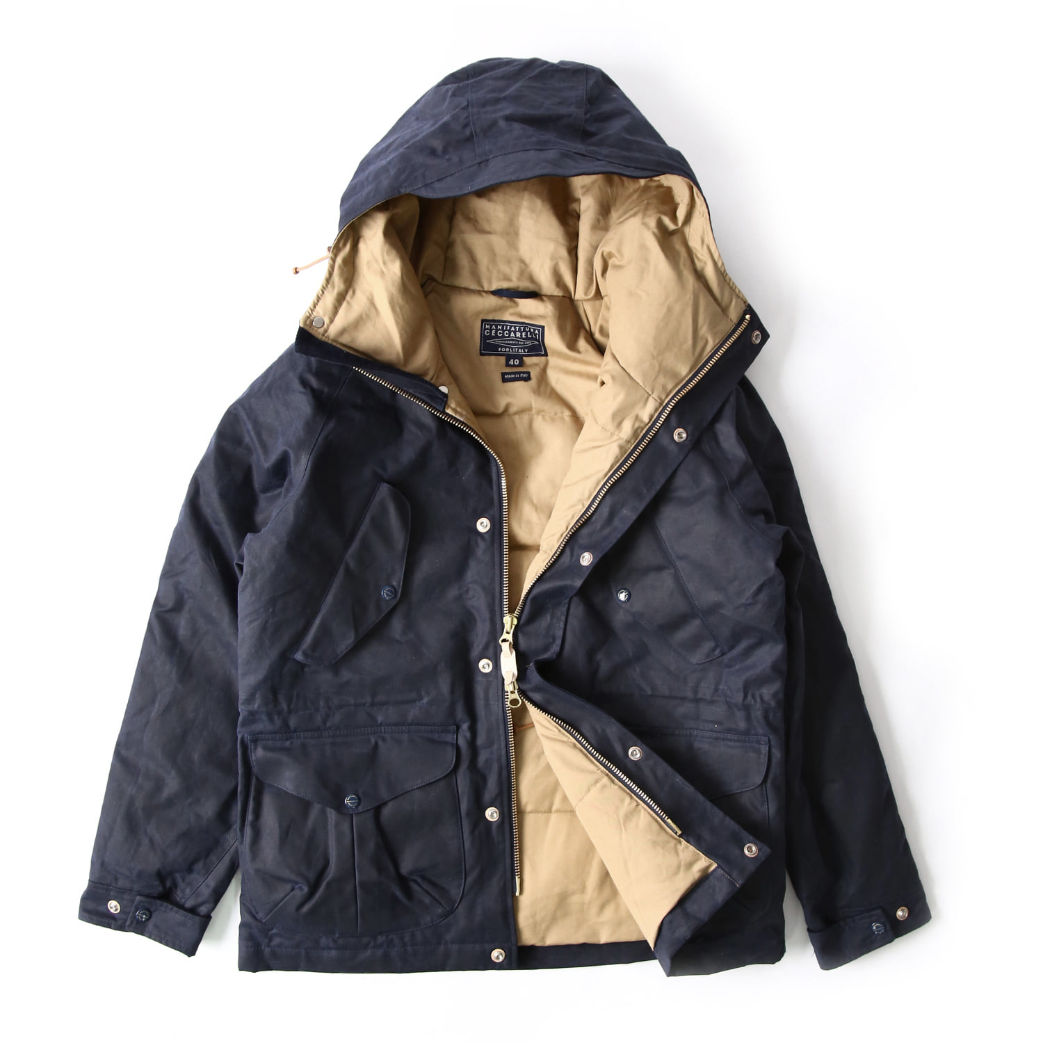 Fisherman Parka - Navy