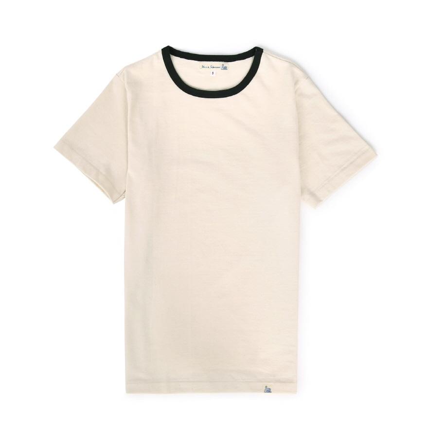 215T 2-tone T-Shirts - Nature/Charcoal