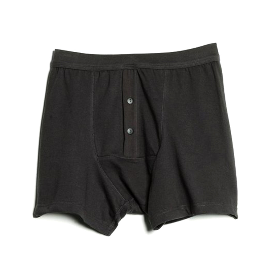 255 Boxer Button Fly - Charcoal