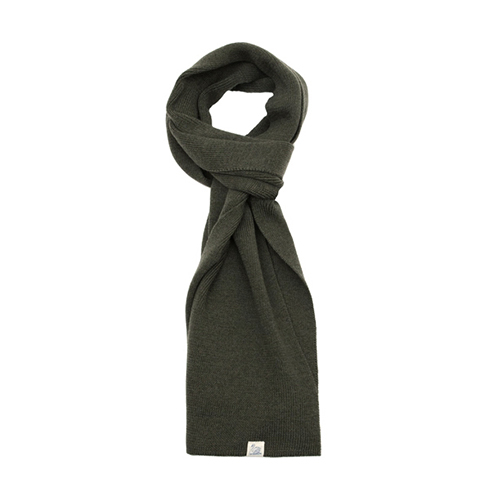 M92 Merino Knitted Scarf - Army