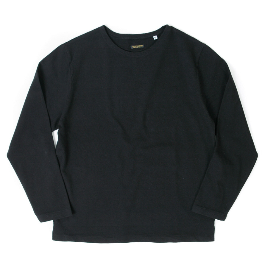 Boat Neck Long Sleeve - Black