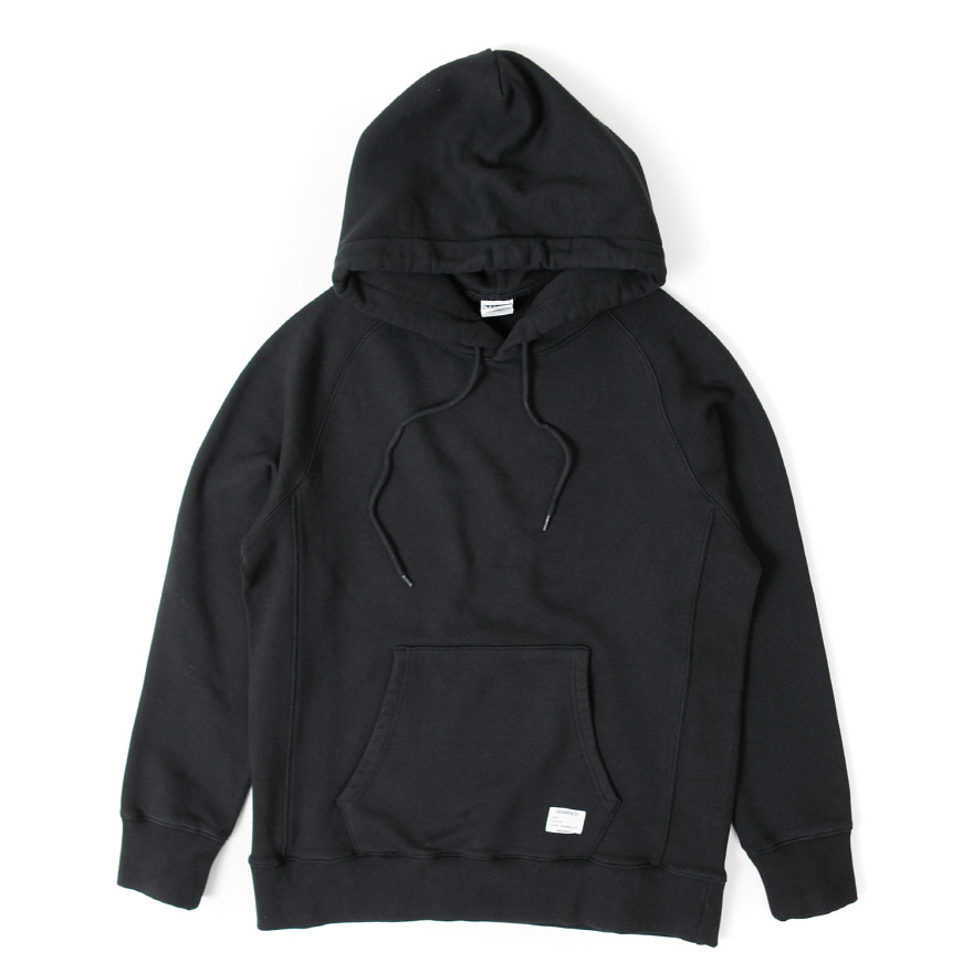 Hooded Sweat Shirt - Black