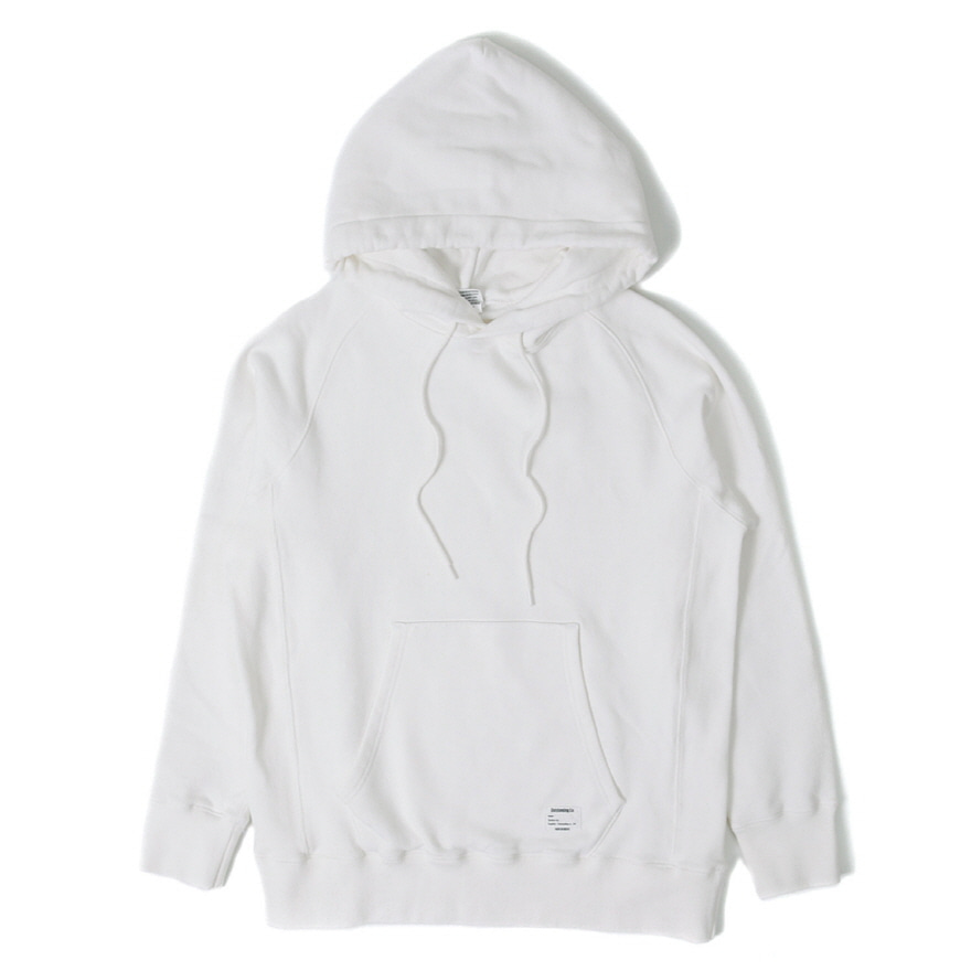 Hooded Sweat Shirt - Off White