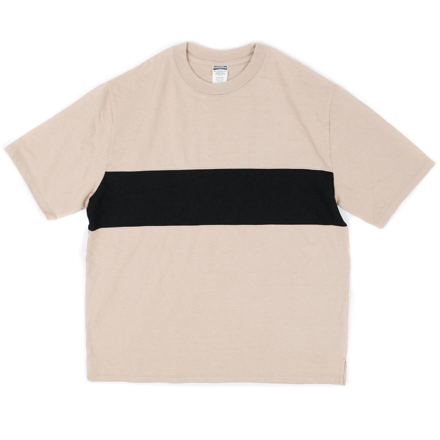 Line Point Half Sleeve - Beige
