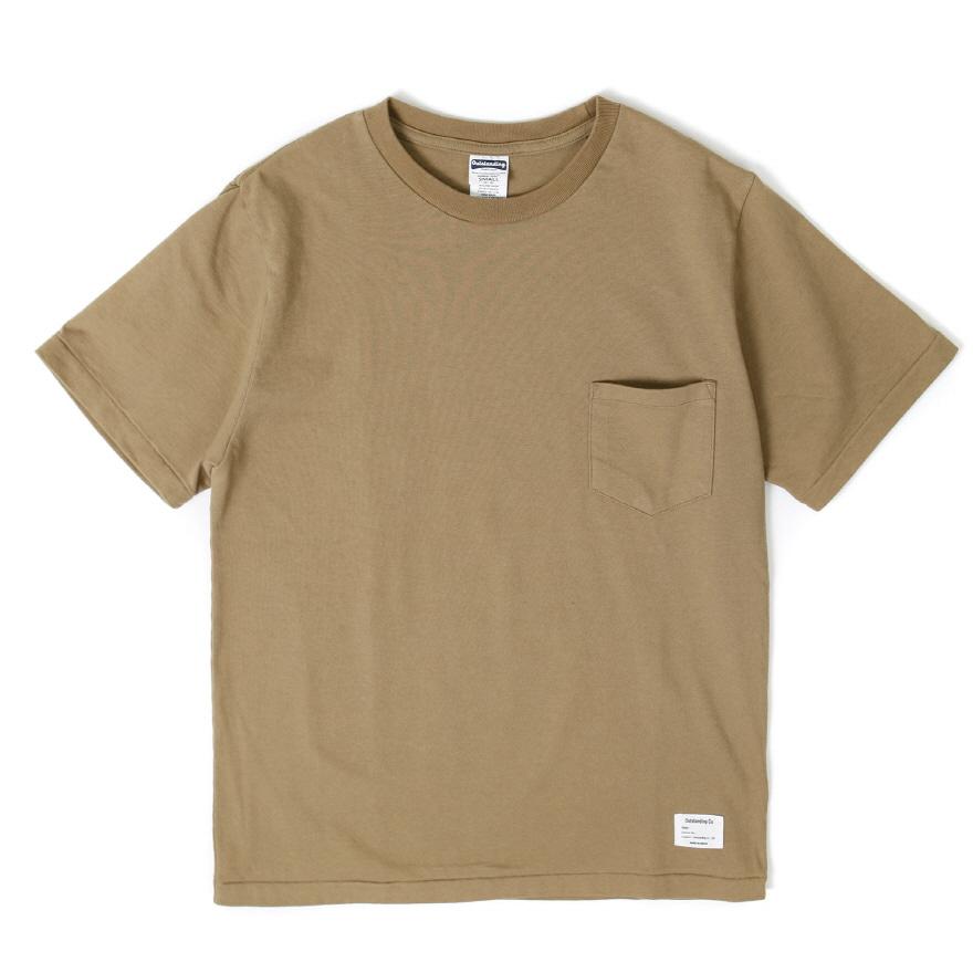 Standard Pocket Crewneck - Beige