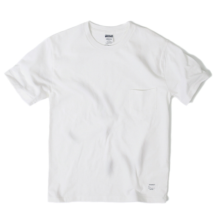Standard Pocket Crewneck - Off White