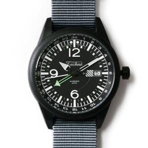 해리어 368 카본 GMT - 나토 스트랩 그레이 PVD