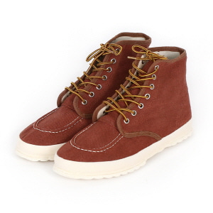 Classic Work Moc-toe Type - Reddish Brown LF