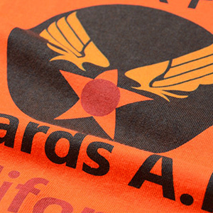 Military Tee - U.S.A.F - Orange