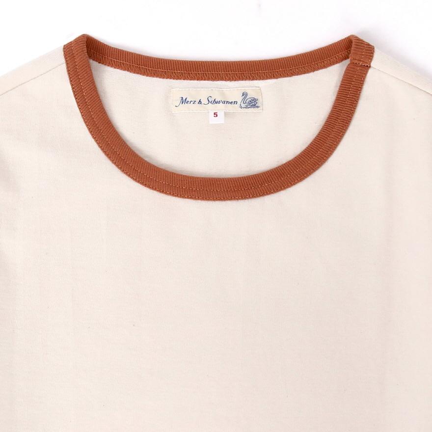 215T 2-tone T-Shirts - Nature/Light Rust